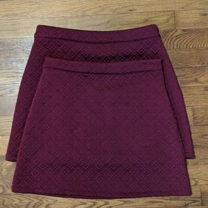 Forever 21 Exclusive quilted skirt